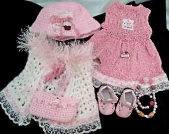 American Made Girl Doll Pink Play Set