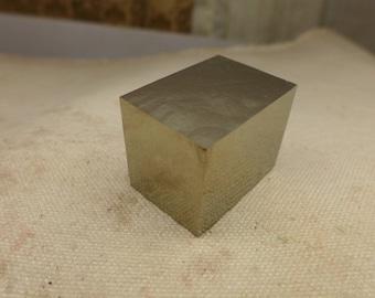 Pyrite Cube Specimen #6 - Spanish Pyrite - High Grade Pyrite