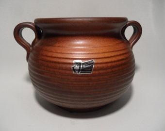 Silberdistel Fayencen german ceramic onion storage pot,onion or garlic storage pot,handmade ceramic