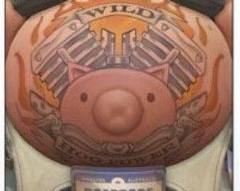 Roadhog tattoo