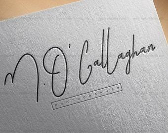 Branding Package, Custom Premade Logo Design Package, Logo - bloggers logo, feminine logo, custom logo design, modern logo, logo branding