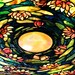 Tiffany Lamp / Colorful Stained Glass Lampshade of Tiffany-Style Chandelier / Abstract / High Res Print / Fine Art Photography