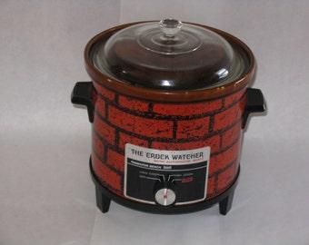 Vintage Hamilton Beach crock pot 3.5 quart 1970's works automatic shift Scovill