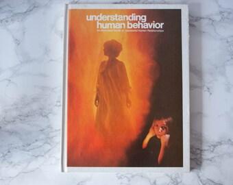 Vintage Book / Understanding Human Behavior / Vintage Psychology Book / Psychology Gifts / Psychology Major / Book Lover Gift / Old Books