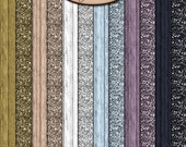 Scrapbooking Digital: Papers, Glitter, Wood, Efflorescence