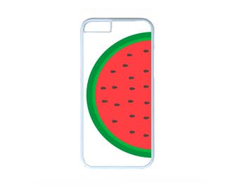 Watermelon Funny Summer Fruit Case Cover for iPhone 4 4s 5 5s  5C 6 6s 6 Plus 7 7 Plus iPod Touch 4 5 6 case Cover