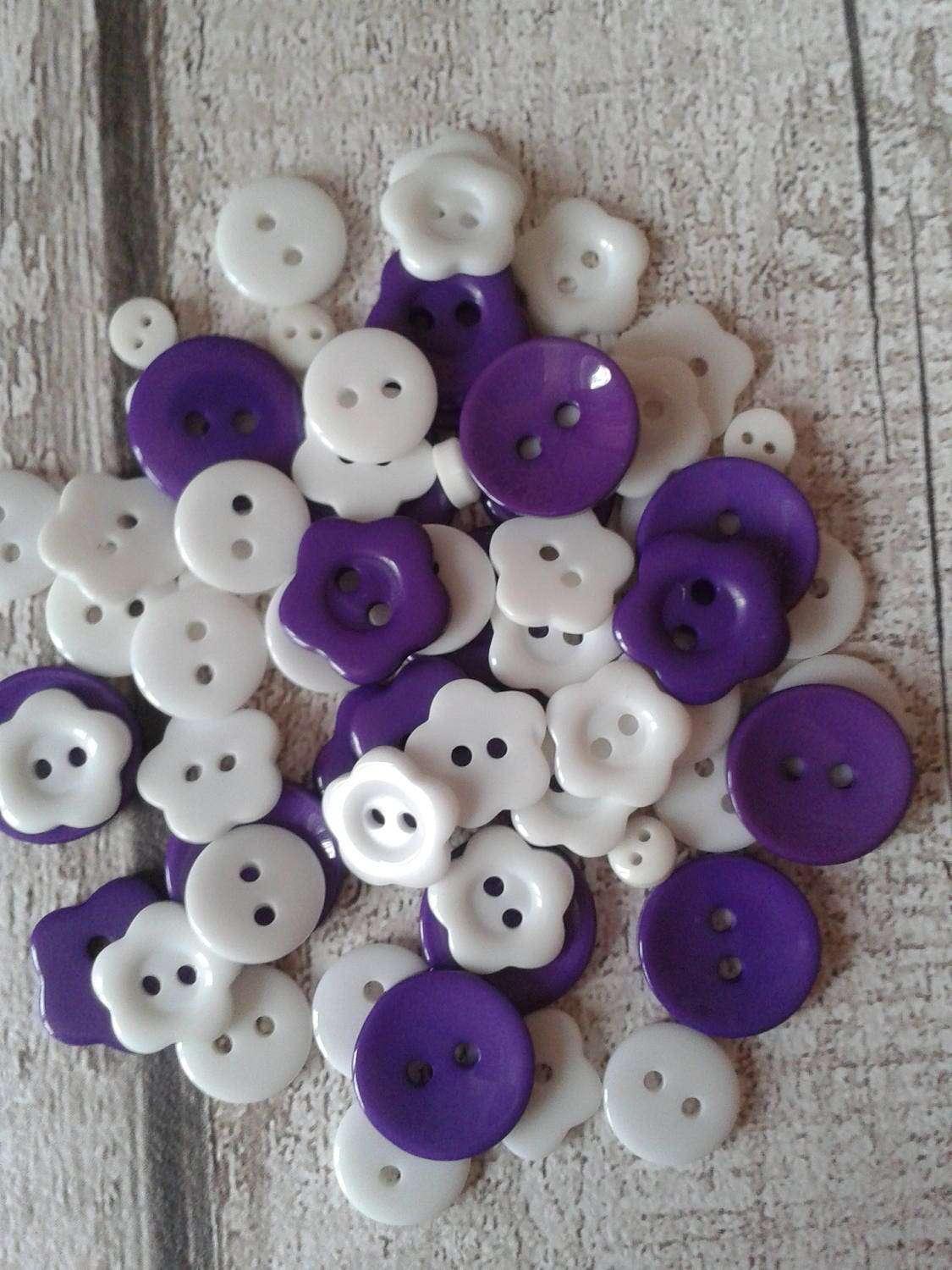 Bulk buttons for crafts -  2 36