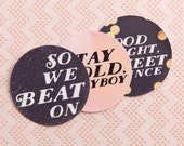 Required Reading Stickers//Pack of 3