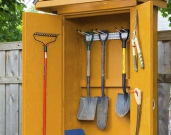 Mini Tool Shed Woodworking Plans