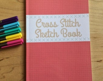 Cross Stitch Sketch Books. Make your own patterns!