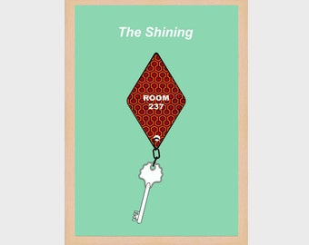 """Poster A4 """"Shining"""""""