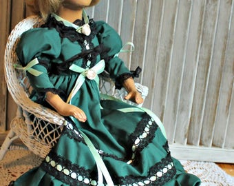 Vintage! Boudoir doll! Composition doll.