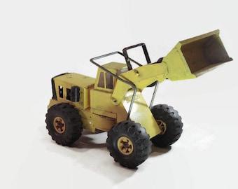 Tonka Mighty Loader Vintage Bulldozer Toy