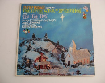 David Wayne Narrates - The Little Star Of Bethlehem / The Toy Box - Circa 1959