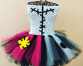 Sally inspired Nightmare Before Christmas Tutu Halloween tutu Costume