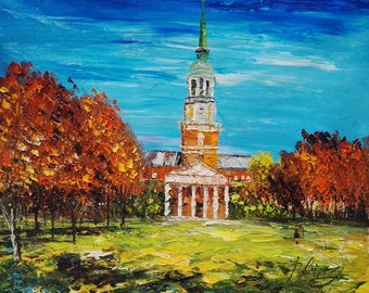 Fall, Wake Forest University-Pen King-A1172