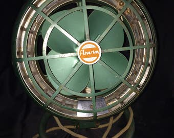 Vintage Arwin Electric Heater & Fan Hot or Cool Works! - 1950's