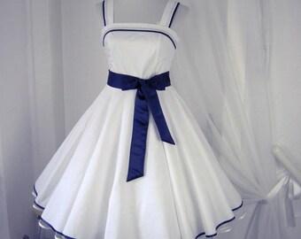 Petticoat dress,  dress, dots dress, bachelor dress, confirmation dress, youth dress, wedding dress,prom dress, party dress, dress