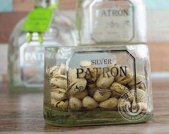 Upcycled Patron Tequila Bowl
