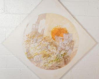 Mid-Century Modern Wall Art Print (8021)NJ