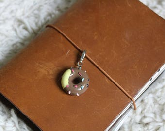 Chocolate Donut Planner Charm