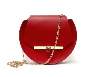 Loel Mini Bag in Poppy Red