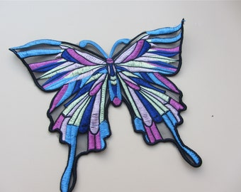 24cm*21cm butterfly applique,embroidery patch