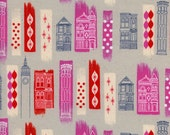 Jubilee by Melody Miller for Cotton and Steel - Fat Quarter-  In the City in Pink
