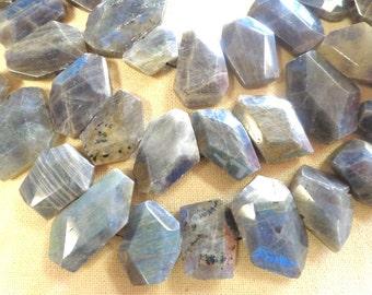 Beautiful Stunning Free Form Labradorite Natural Gemstone !!!!!