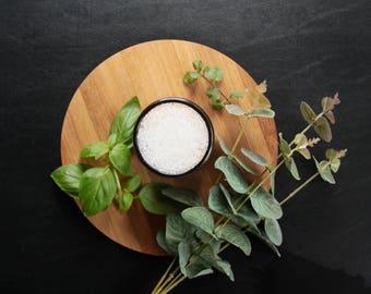 Pure| Tender - Muscle & Ache Bath Salt Blend. 1lb Sealable Pouch: Great for Aches/Pains/Cramps, Heavy Cramps/PMS/PMDD, Endometriosis, Crohns
