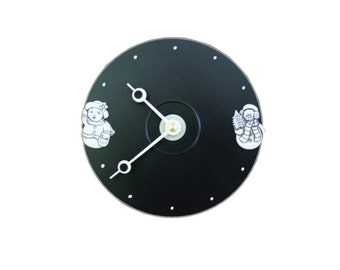 Snow Babies CD Clock