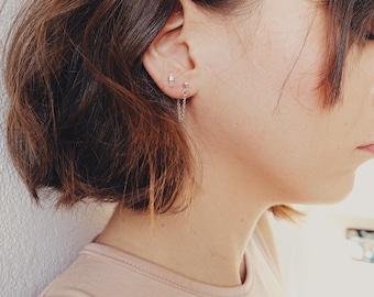JONA - Stud Earrings sterling silver