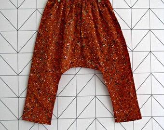 Liberty harem pants, sarouel for toddlers, Dot