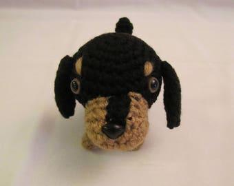 DACHSHUND - Crochet Amigurumi - Crochet Dog, Crochet Puppy