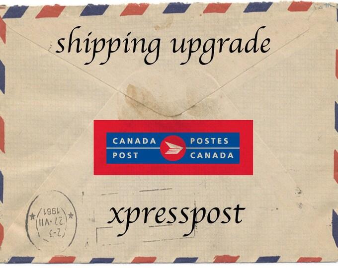 Shipping upgrade xpress post
