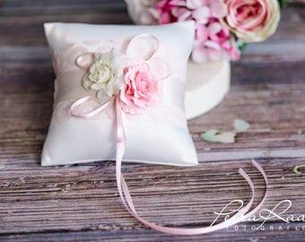 Ring pillow wedding pillow wedding rings ivory Racherla wedding decoration AK7