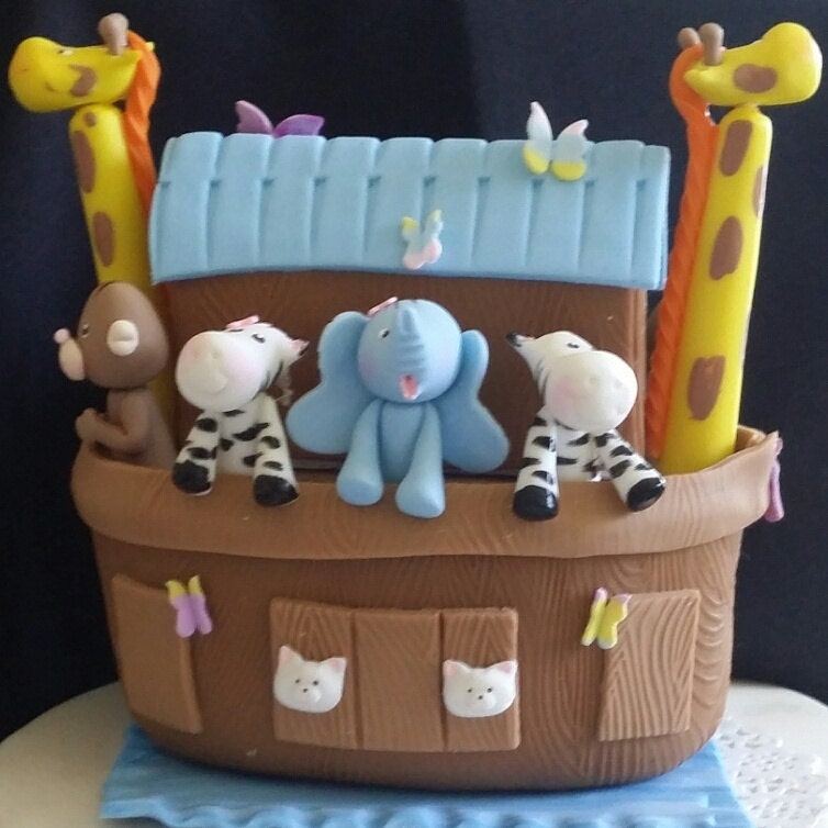 Noah's Ark Cake Topper Noah's Birthday Baby Shower