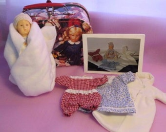 """Limited Edition of 260 Kathe Kruse """"Babykind"""" doll, UFDC Doll, Vintage/Antique Doll"""