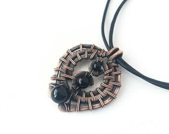 Black Onyx & Reclaimed Copper