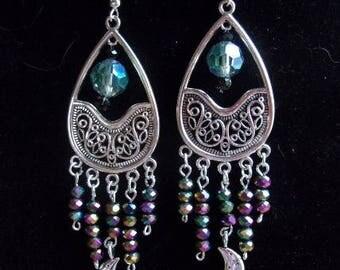 Mediterranean Moonlight Earrings