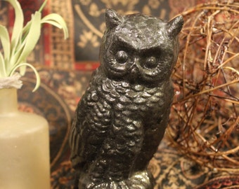 Owl, statue, birds,home decor, Gift, home and living, home accents,office decor, Birds of prey