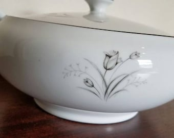 Serving Bowl with Lid by Creative in  Royal Elegance