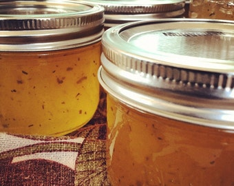 Pear Rosemary Jam 8oz - TheSunshineJellyCo
