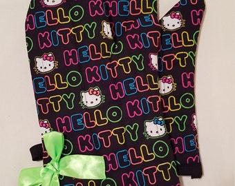 80s Hello Kitty Oven Mitts!