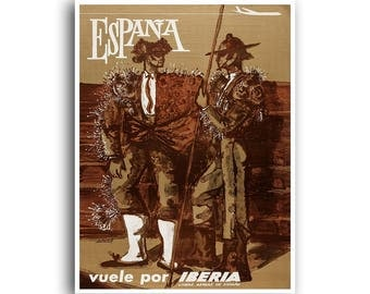 Spain Travel Poster Spanish Art Home Decor Print (XR1294)