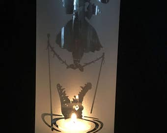 Disney's Haunted Mansion inspired lantern