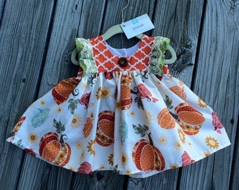 READY TO SHIP Fall Pumpkin Tunic
