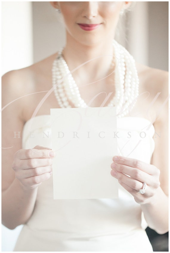 Image of bride holding 5x7 blank invitation stationery card image of bride holding 5x7 blank invitation stationery card stock photo mockup stopboris Gallery