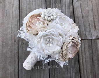 Vintage Bouquet, Vintage Wedding, Vintage Bridal, Brooch Bouquet, Bling Bouquet, Bridal Bouquet