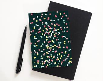 Card confetti